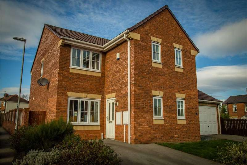 3 Bedrooms Semi Detached House for sale in Spring Place Court, Mirfield, West Yorkshire, WF14