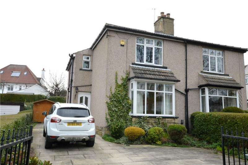 3 Bedrooms Semi Detached House for sale in Crowther Avenue, Calverley, Leeds, West Yorkshire