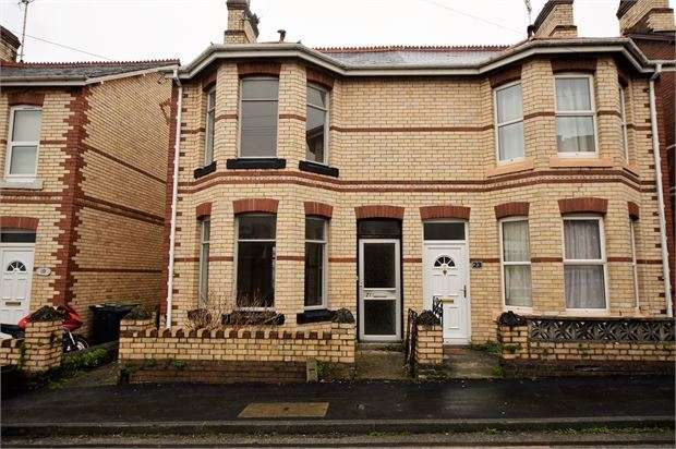 2 Bedrooms Semi Detached House for sale in King Street, Newton Abbot, Devon. TQ12 2LG