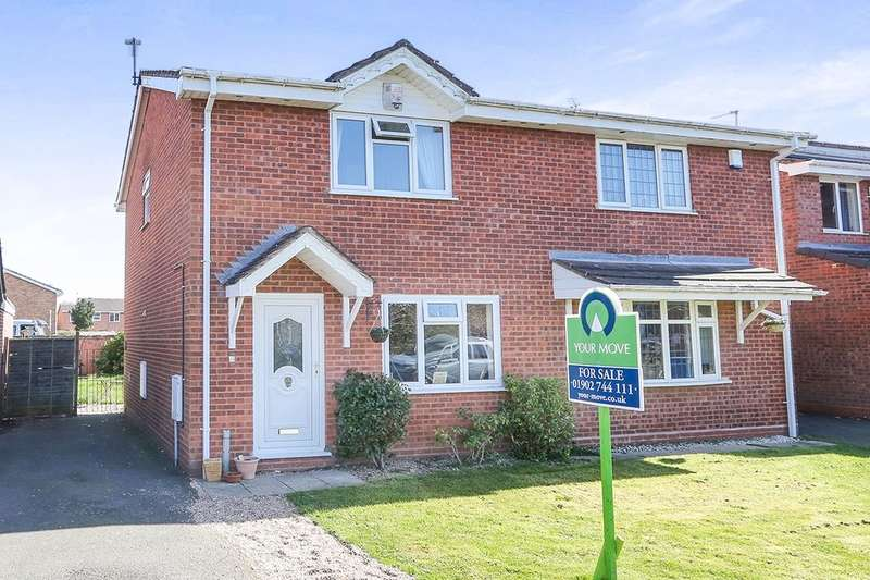 3 Bedrooms Semi Detached House for sale in Coulter Grove, Perton, Wolverhampton, WV6