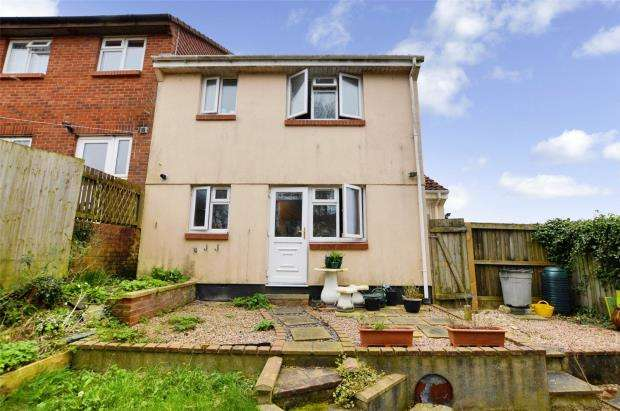 1 Bedroom End Of Terrace House for sale in Battershall Close, Plymouth, Devon