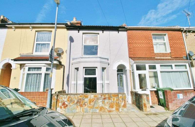 3 Bedrooms Terraced House for sale in Henderson Road, Southsea