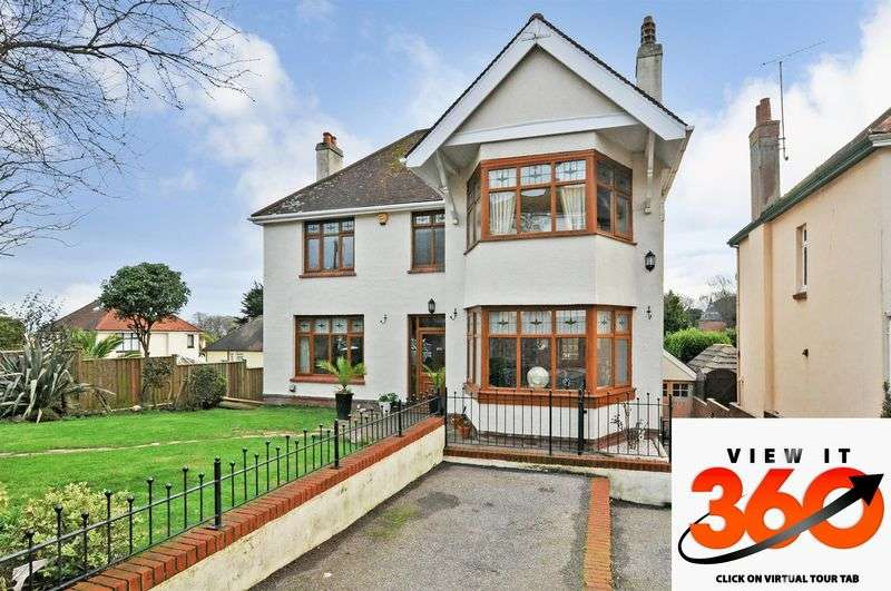 5 Bedrooms Detached House for sale in Southfield Avenue, Preston, Paignton