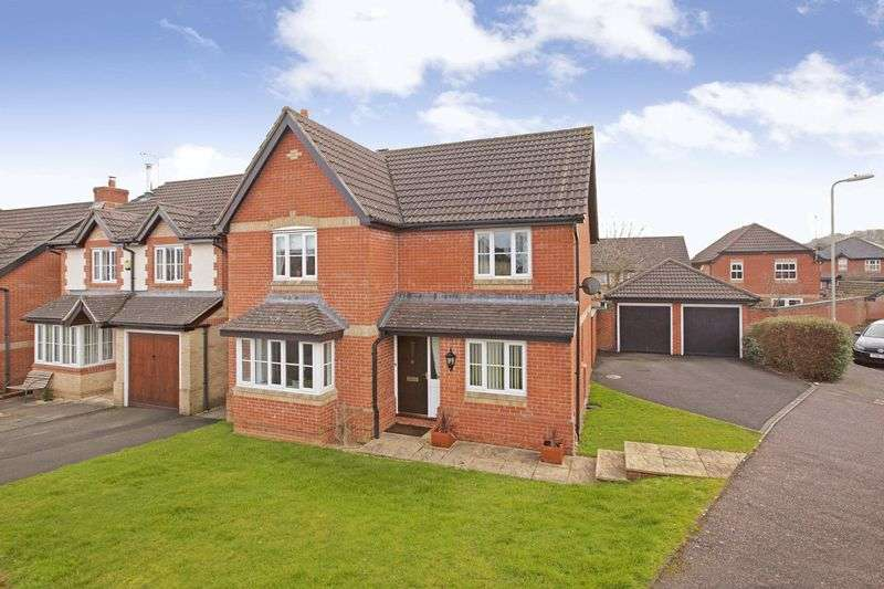 4 Bedrooms Detached House for sale in Conigar Close, Cullompton