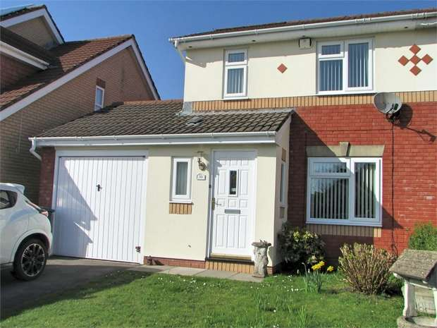 3 Bedrooms Semi Detached House for sale in Derwen Deg, Bryncoch, Neath, West Glamorgan