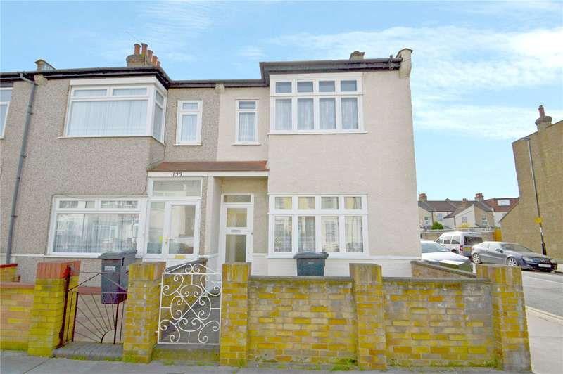 3 Bedrooms End Of Terrace House for sale in Dalmally Road, Croydon