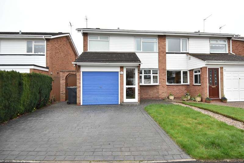 3 Bedrooms Semi Detached House for sale in Hartford Road, Bromsgrove