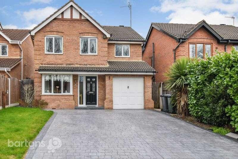 4 Bedrooms Detached House for sale in Grange Farm Close, Brinsworth