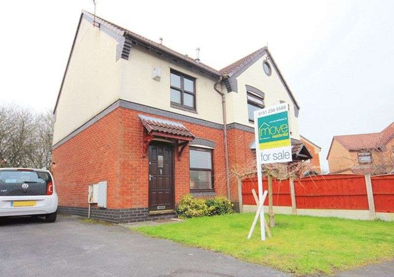 2 Bedrooms Semi Detached House for sale in Abbotsbury Way, Croxteth Park, Liverpool, L12