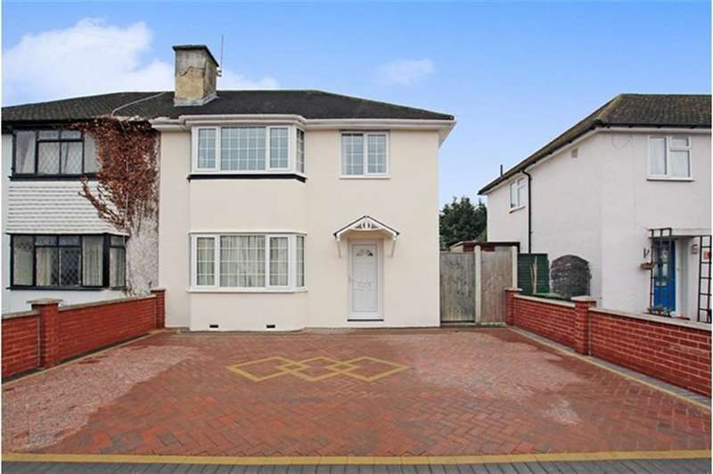 3 Bedrooms Semi Detached House for sale in Morello Avenue, Uxbridge, Middlesex, UB8