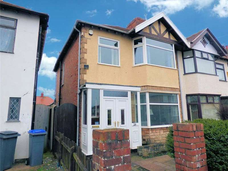 3 Bedrooms Semi Detached House for sale in Riversleigh Avenue, North Shore, Blackpool