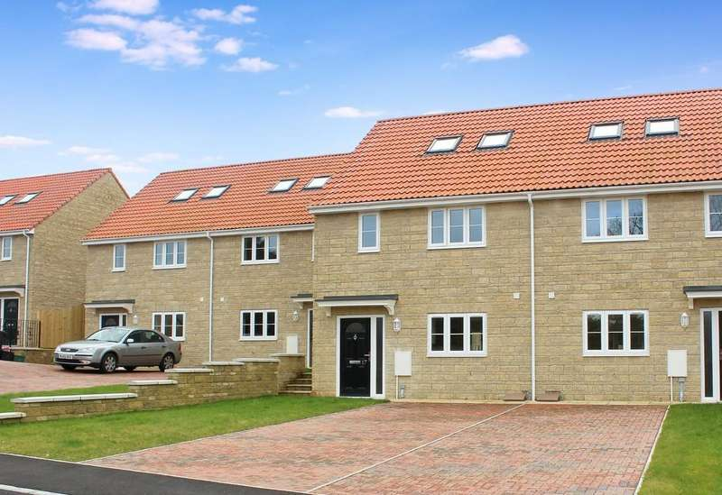 4 Bedrooms Semi Detached House for sale in The Sidings, Shepton Mallet