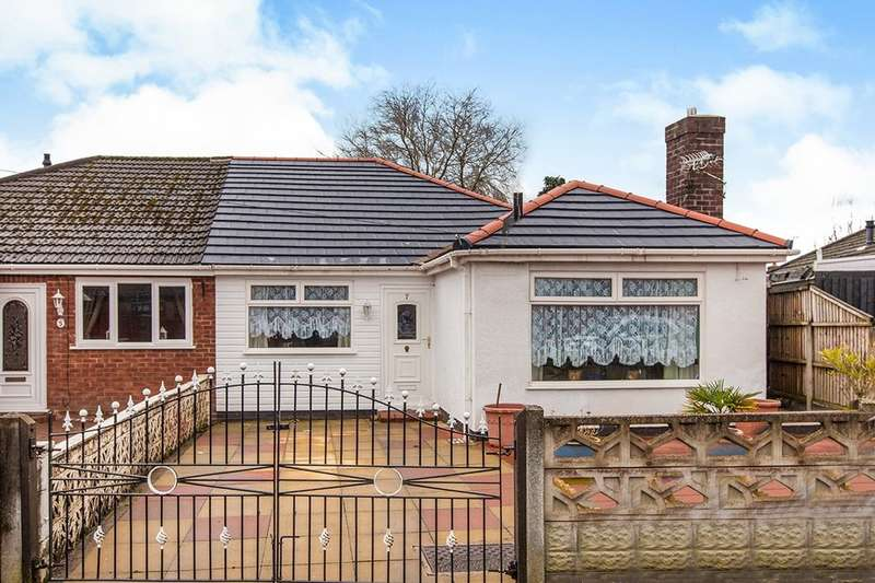 3 Bedrooms Semi Detached Bungalow for sale in Willow Grove, Ashton-In-Makerfield, Wigan, WN4