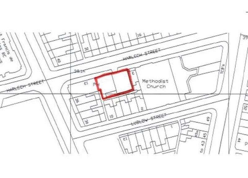 Land Commercial for sale in Land to side of Carisbrooke Pub, 3-11 Harlech Street, Liverpool