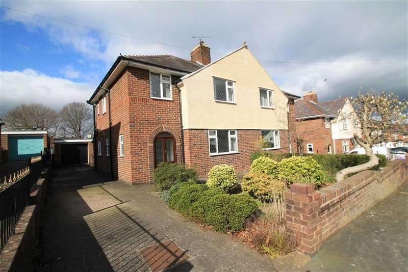 3 Bedrooms Semi Detached House for sale in Wats Dyke Way, Garden Village, Wrexham