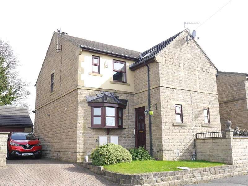 3 Bedrooms End Of Terrace House for sale in Edgemoor Close, Toftshaw Lane, BD4 6R