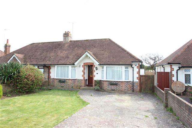 2 Bedrooms Bungalow for sale in Sunningdale Road, Worthing, West Sussex, BN13 2NE