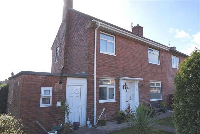 3 Bedrooms Semi Detached House for sale in Cheshire Gardens, Wallsend, Tyne And Wear, NE28