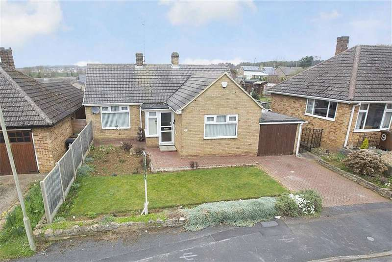 2 Bedrooms Detached Bungalow for sale in Grange Road, Stanion, Northamptonshire