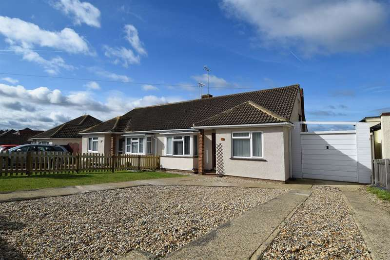 2 Bedrooms Semi Detached Bungalow for sale in Mickleburgh Avenue, HERNE BAY