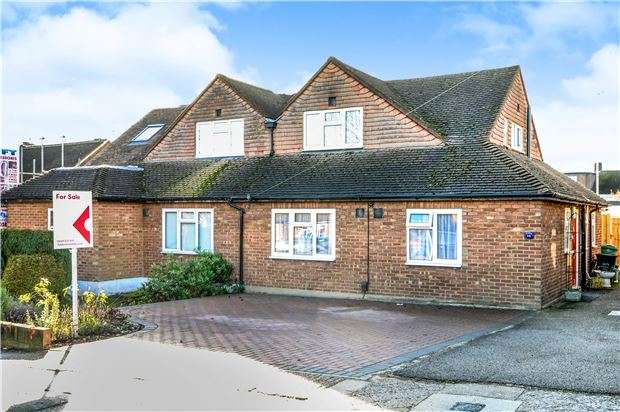 3 Bedrooms Semi Detached Bungalow for sale in St. Leonards Rise, ORPINGTON, Kent, BR6 9NB