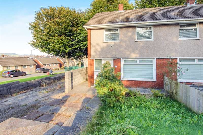 2 Bedrooms Semi Detached House for sale in Wern Bank, Neath