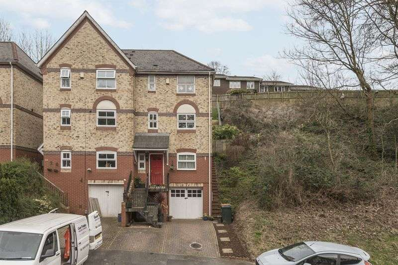 4 Bedrooms Semi Detached House for sale in Stow Park Drive, Newport