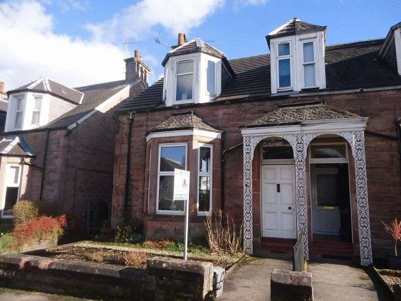 3 Bedrooms Semi Detached House for sale in Victoria Street, Alloa