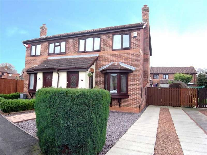 3 Bedrooms Semi Detached House for sale in Westpark Drive, Darlington