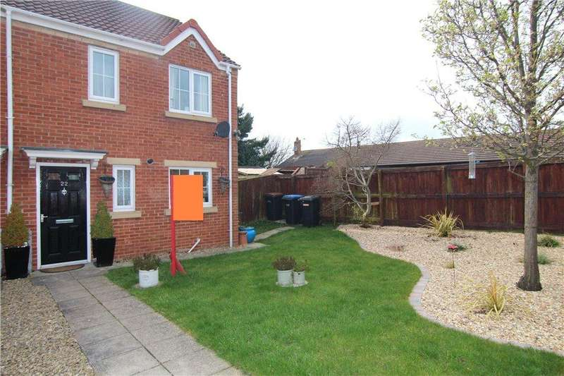 3 Bedrooms Semi Detached House for sale in Charlton Court, Bowburn, DH6