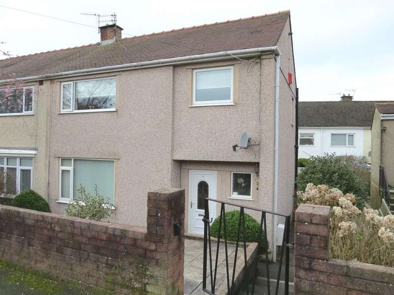 3 Bedrooms Semi Detached House for sale in Tower Hill, Whitehaven, Cumbria