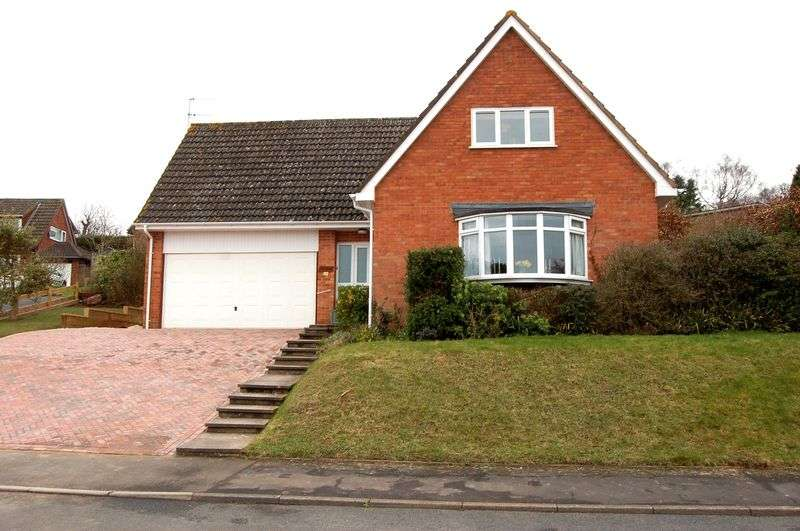 4 Bedrooms Detached House for sale in Wallis Close, Monmouth