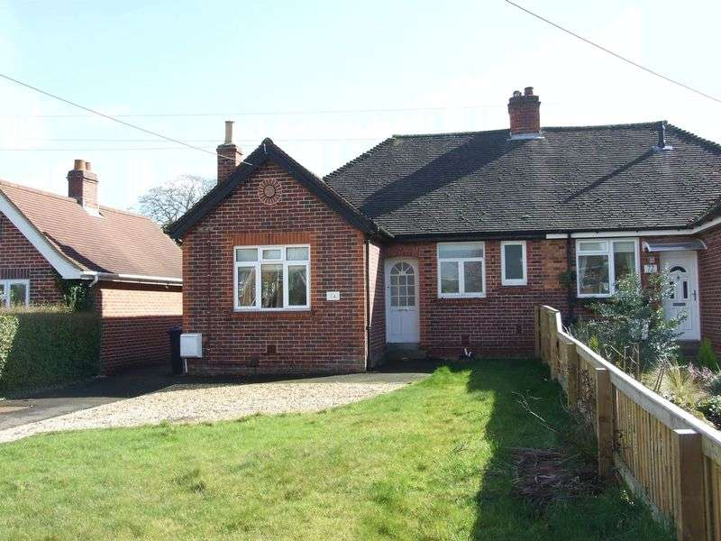 2 Bedrooms Semi Detached Bungalow for sale in The Down, Trowbridge