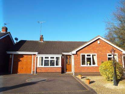 2 Bedrooms Bungalow for sale in Stoney Croft, Cannock, Staffordshire