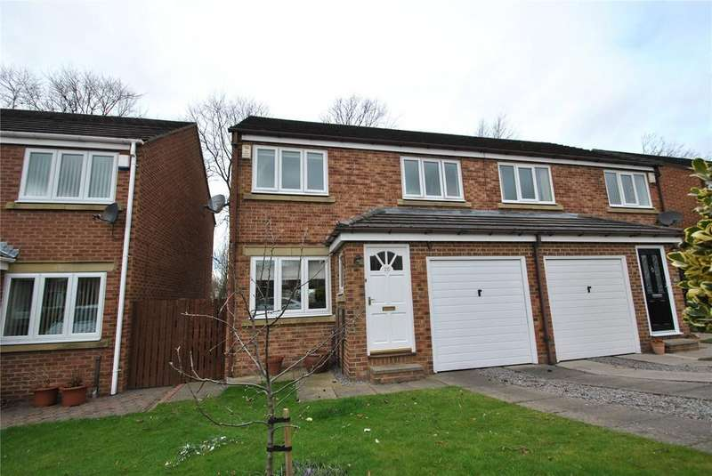 3 Bedrooms Semi Detached House for sale in Longlands Drive, Houghton le Spring, Tyne and Wear, DH5