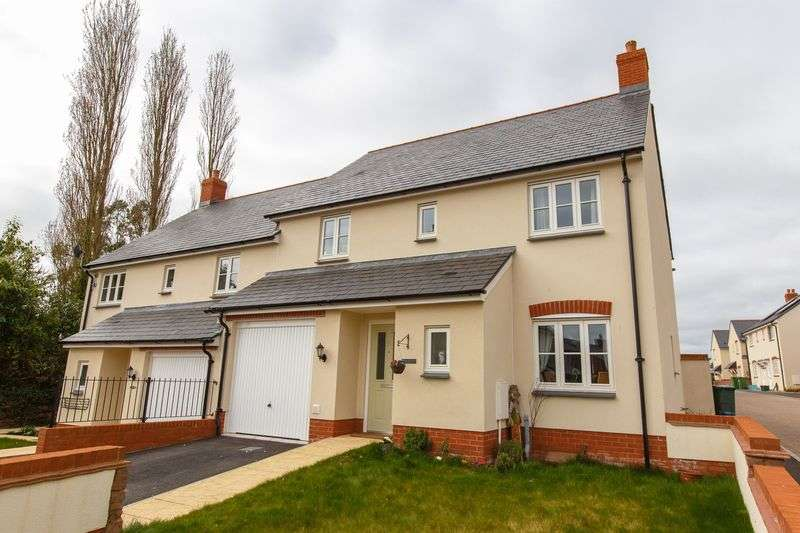 4 Bedrooms Semi Detached House for sale in Creedy View, Sandford