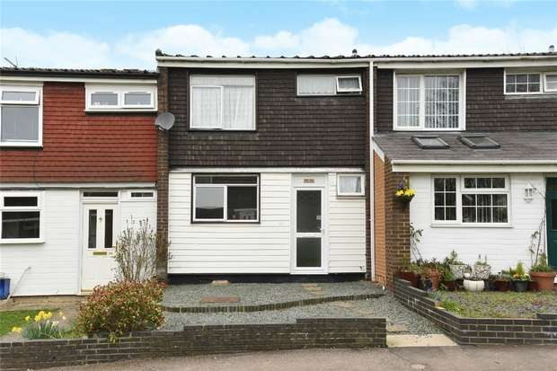 3 Bedrooms Terraced House for sale in Radnor Walk, Bedford