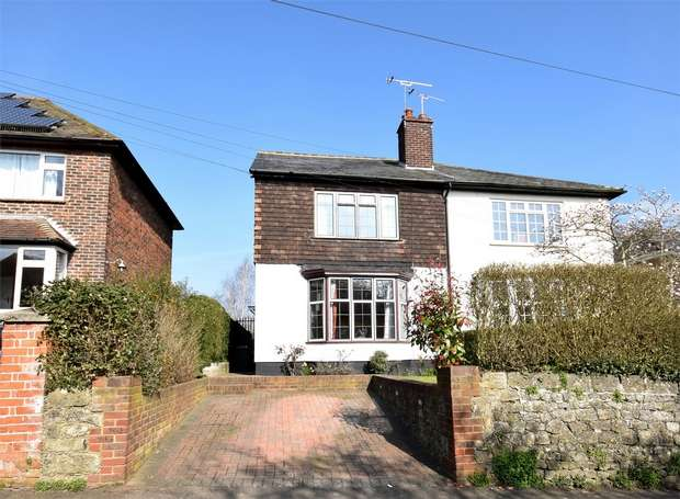 3 Bedrooms Semi Detached House for sale in 68 Chipstead Lane, Riverhead, Sevenoaks, Kent