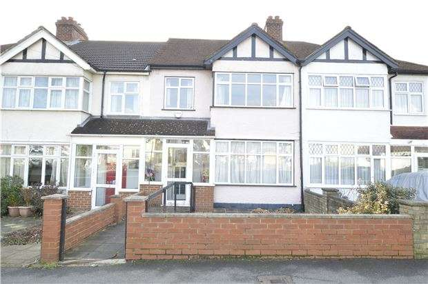 3 Bedrooms Terraced House for sale in Burleigh Road, SUTTON, Surrey, SM3 9NE