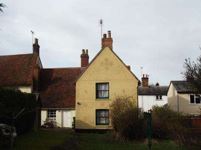 2 Bedrooms End Of Terrace House for sale in Bridge Street, Great Bardfield, Braintree