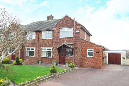 3 Bedrooms Semi Detached House for sale in Sothall Green, Beighton, Sheffield, South Yorkshire