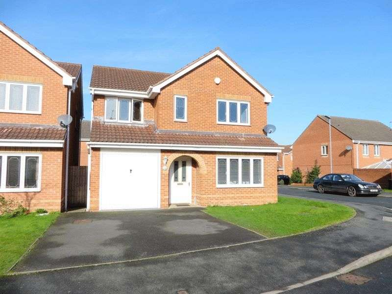 4 Bedrooms Detached House for sale in Penstock Drive, Oldbury