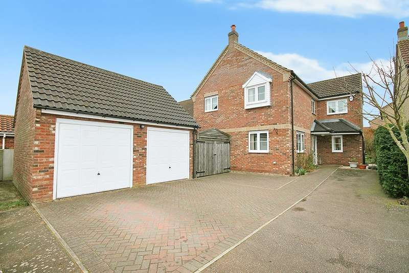 4 Bedrooms Detached House for sale in Eriswell Road, Lakenheath, IP27 9AH