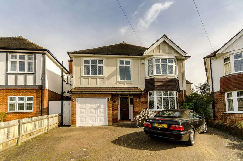4 Bedrooms House for sale in Cromford Way, New Malden, KT3