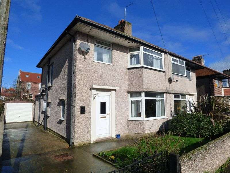 3 Bedrooms Semi Detached House for sale in Regent Park Grove, Morecambe