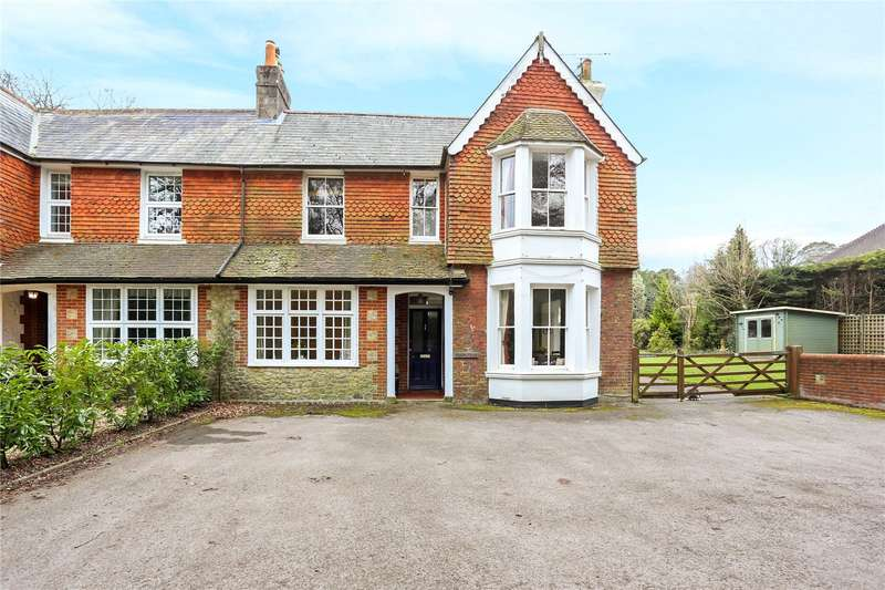 4 Bedrooms Semi Detached House for sale in Malvern Road, Hill Brow, Liss, Hampshire, GU33