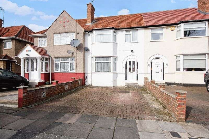 3 Bedrooms Terraced House for sale in Cambridge Avenue, Greenford