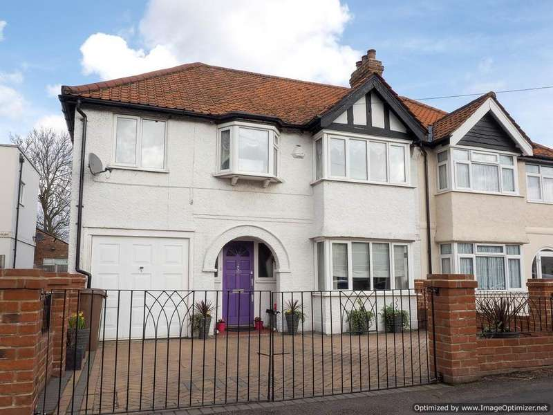 4 Bedrooms Semi Detached House for sale in Ash Road, Sutton SM3