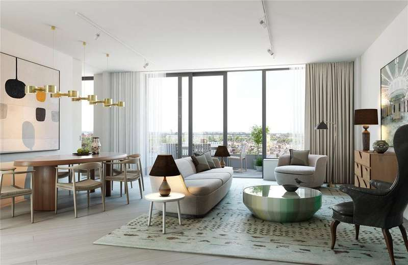 3 Bedrooms Flat for sale in Television Centre, 101 Wood Lane, White City, London, W12