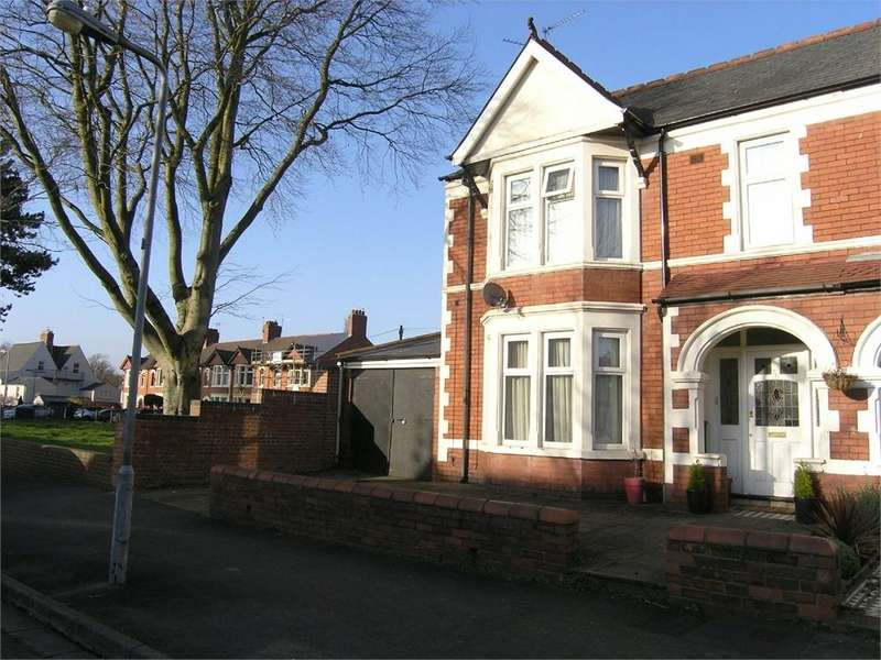 4 Bedrooms End Of Terrace House for sale in Southminster Road, Roath, Cardiff
